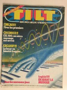 TILT Magazine No 15 Septembre 1984 Jeux et Micro Retro Gaming - Très bon Etat