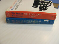 Bruce Catton Lot of 2 ARMY of the Potomac series: Mr. LIncoln's army, Stillnes