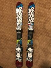 K2 Indy Kids Skis - 88 cm with Marker Fastrack Bindings