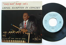"""7"""" EP Lionel Hampton – """"Crazy on"""" Hamp-vol 1-live paris-sonet sxp 2009"""