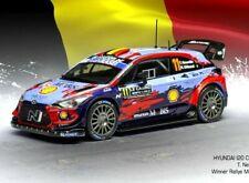 IXO Hyundai i20 Coupé No.11 WRC Monte Carlo 2020 T.Neuville et N.Gilsoul Echelle 1:43 Voiture Miniature en Métal (RAM743)