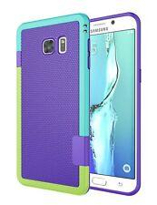 Galaxy S6 Edge Plus Estuche, [3 Colores] Slim Hybrid Impact Rugged Soft Tpu Y
