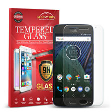 For Motorola Moto G5 Proworx HD Tempered Glass Screen Protector Clear