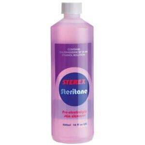 Sterex Steritane Skin Cleanser 500ml - Contains Chlorexidine BP