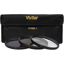 Vivitar 58mm 3-Piece UV/CPL/ND8 Filter Kit for Digital SLR Camera & Lens NEW
