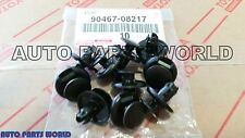 GENUINE TOYOTA LEXUS FJ CRUISER GX470 RADIATOR COVER CLIPS SET 10 X 90467-08217