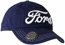 Ford Embroidered Logo Snapback Baseball Cap with Bottle Opener