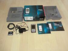 Nokia E65 Slider Handy Mocca/Silber, in OVP, ohne Simlock, 2 Jahre Garantie