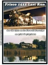 Frisco 1522 Last run Railroad Dvd Please Read