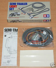 Tamiya 56502 Trattore Camion Semirimorchio Luce Set (Flatbed/Box/Contenitore/reefer)