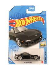 Hot Wheels 2021 HW Factory Fresh 6/10 Black '95 Mazda RX-7
