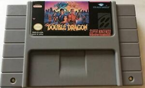 Super Double Dragon SNES Super Nintendo USA NTSC video game cartridge