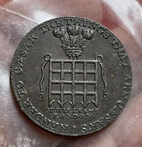 GB 1/2 Penny Token 1795