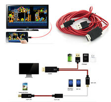 Micro USB MHL to HDMI 1080P HDTV Cable Adapter For Samsung Galaxy Tab 3 10.1 8.0
