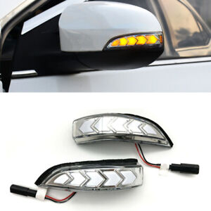 Sequential Mirror LED Side Turn Signal Fit for Toyota Corolla 14-17 Scion IM