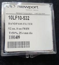 NEWPORT 10LF10-532 BANDPASS FILTER (U10.2B1)