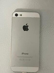 Apple iPhone 5 USED SMARTPHONE Cellphone 16GB -white(Unlocked)