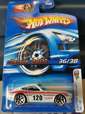 Hotwheels 2006 [First Editions] - Datsun 240Z [White]  VHTF
