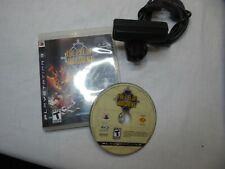 The Eye of Judgment (Sony PlayStation 3, 2007) with camera missing manual