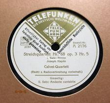 Calvet Quartet - Streichquartett Nr.69 op.3 Nr.5  HAYDN 1-4  TELEFUNKEN 2x 78'er