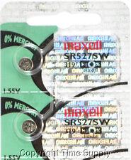 Maxell 319 Sr527Sw D319 V319 Gp319 Sr527 Battery 0% Mercury ( 2 Pc )