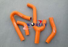 For KTM 250/300/380 SX/EXC/MXC 1998-2003 99 00 01 Silicone Radiator Hose Orange