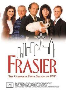 Frasier : Season 1 (DVD, 2011, 4-Disc Set)*R4*Terrific Condition*