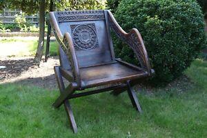 Antique Glastonbury Oak Chair Circa 1860