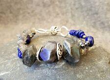 HANDMADE! Lapis Lazuli Gemstone Bracelet 40027