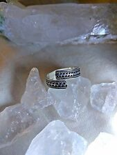 RARE! PARI DJINN STERLING SILVER RING SPELLS WICCA Amulet Talisman WITCH Magical