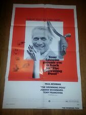 The Drowning Pool 1975 Orig Movie Poster 1 sh 27x41 Paul Newman Joanne Woodward