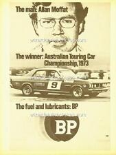 1973 ALLAN MOFFAT FORD GTHO III ATCC BP A3 POSTER AD ADVERT SALES BROCHURE