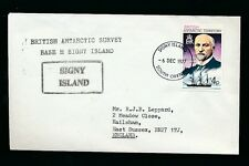 BRITISH ANTARCTIC TERRITORY SIGNY ISLAND 1977 EXPLORERS 4p LARSEN + SHIP