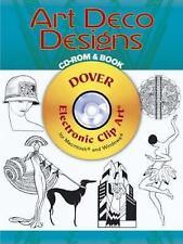 Art Deco Designs (Dover Electronic Clip Art), Noble, Marty, Very Good Book