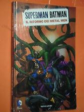 SUPERMAN BATMAN -MONDADORI- N°9- ritorno dei metal -SIGILLATO -EDIZIONI-LION