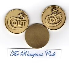 ONE, COLT FIREARMS DISPLAY CASE MEDALLION NEW 1 1/4'' , $16.00 EACH