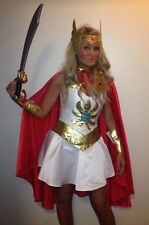 SHE RA corset costume wonderwoman shera xena custom made to fit perfectly