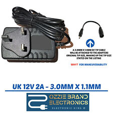 TO FIT ACER ICONIA A500 A501 A100 A200 A210 TAB W3-810 TABLET CHARGER PLUG 12V
