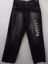 Lacoste x Silver Jeans Big Alligator Logo Men's Jeans Pants Size 36 x 32