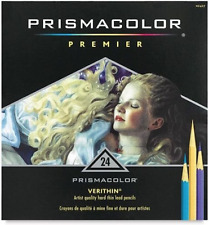 PrismaColor 24 Premier Verithin Coloured Pencils NEW Colouring Art Prismacolour