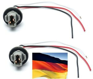 Flosser Pigtail Wire 2644 Female Socket 7443 Two Harness Front Turn Signal Lamp