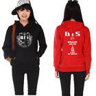 Kpop BTS Cap Hoodie Jung kook Sweatershirt Bangtan Boys Sweater Unisex Suga JIN
