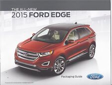 2015 Ford Edge Packaging Guide 15 News