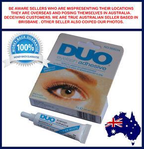 DUO Waterproof Eyelash Glue False Eyelash Adhesive, White Dries Invisibly