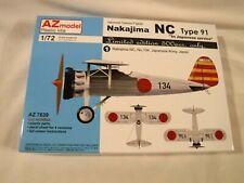 1/72 AZ Model Nakajima NC Type 91 Japanese Army Limited Ed Decals 4/4 # 7639