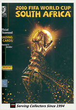 2010 South Africa World Cup Soccer Trading Card Set (198) + Album-Rare!