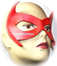 RED Robin Damian Wayne Leather Mask Superhero Batman Batgirl Halloween UNISEX