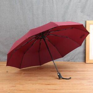 Folding Umbrella Big Fully-automatic Windproof Man Gentle Men Fashion Umbrella