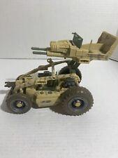 """Hasbro GI JOE 8"""" SAND RAZOR Plastic DUNE BUGGY Toy Model USA4X-0023"""