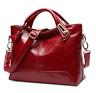 Women Oil Wax Leather Designer Handbags High Quality Shoulder Bags Fashion
